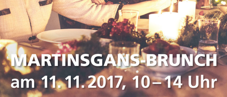 Martinsgans-Brunch am 11.11.2017