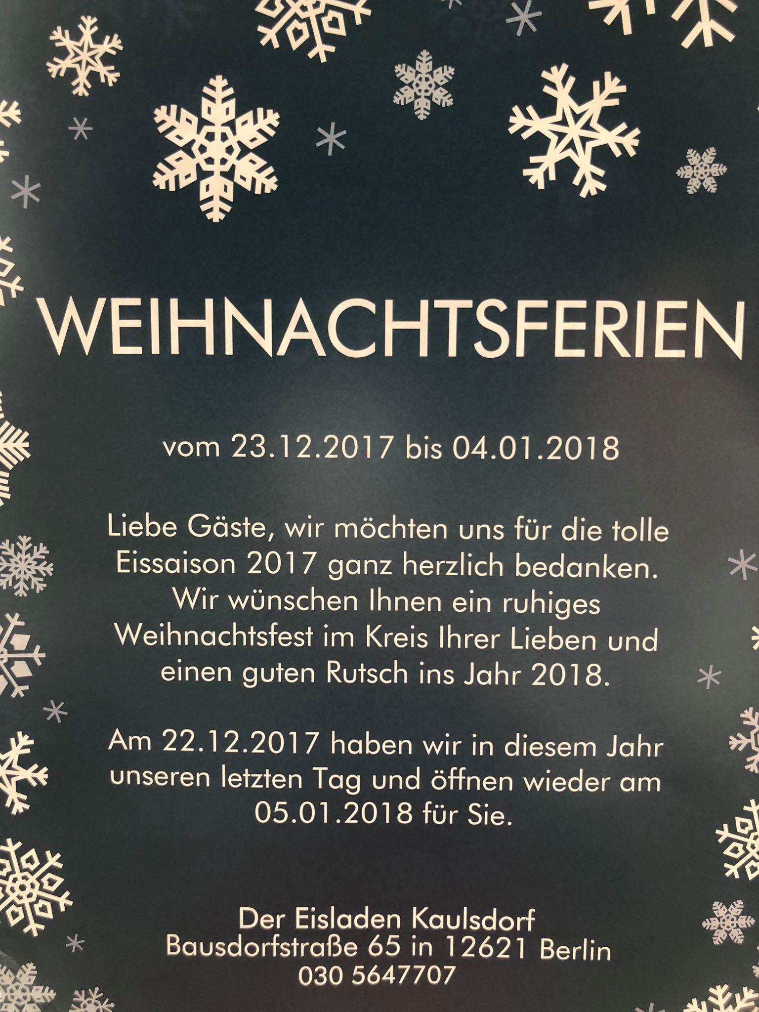 weihnachtsferien berlin