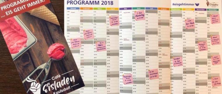 Unser Programm für 2018