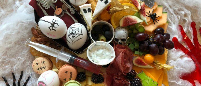 Halloween-Frühstück